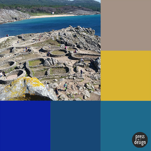 Tuesday Colour Inspiration – Castro de Baroña