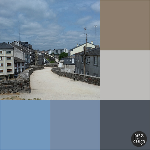 Tuesday Colour Inspiration – Roman Walls of Lugo