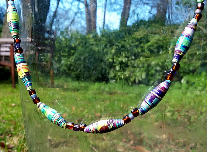 New workshop! Wear Your Words – creative writing and bead making