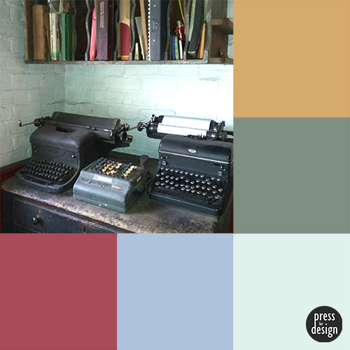 Tuesday Colour Inspiration – old typewriters