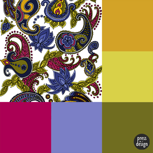 Tuesday Colour Inspiration – Paisley of '71